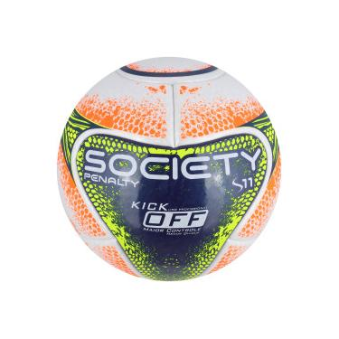 Bola Society Penalty S11 R1 Kick Off VIII - BRANCO AZUL ESC Penalty 40588c2be97ab