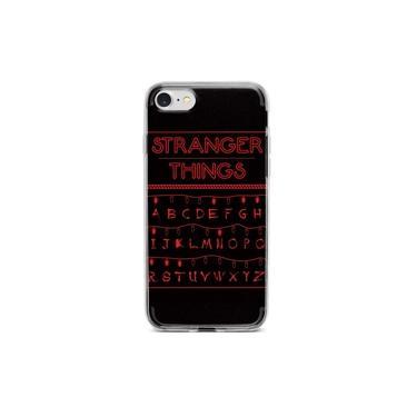 Capinha para celular Stranger Things Lights Black- Motorola Moto E5
