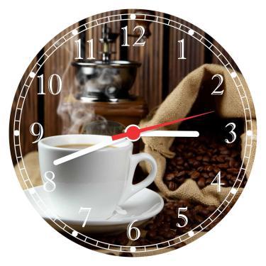 Relógio De Parede Café Cafeterias Padarias Gourmet