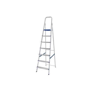 Escada de Alumínio Mor, 7 Degraus - 5105