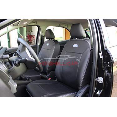 Imagem de Capas Em Couro Para Bancos Automotivos Carro P Novo Ford Ka Hatch 2015 2016 2017 2018 2019