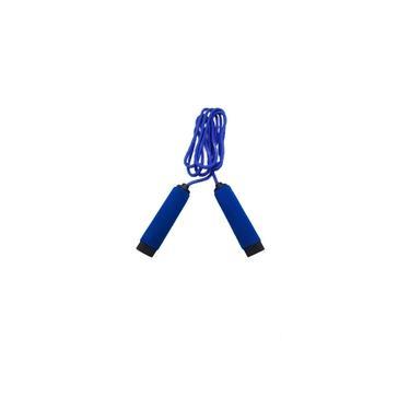 Corda De Pular Empunhadura Fitness Exercícios Espuma 2,6M