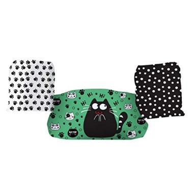 Bóia de Braço e Colete infantil - Não fura - Marca Panda - Gatinho