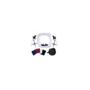 Kit Mini Estúdio Fotográfico Com Tenda 40x40cm Para Foto Still E Produtos -  Greika - Pk-St07 110v
