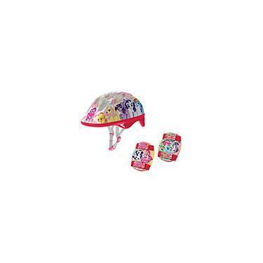 My Little Pony Kit de Segurança Skate Vermelho - By Kids