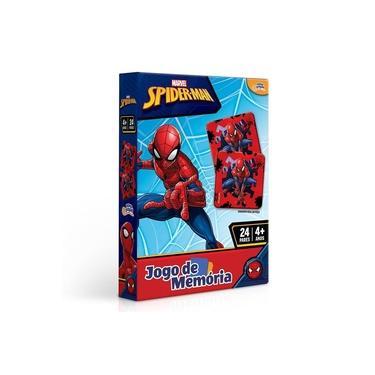 Imagem de Jogo De Memoria Homem Aranha 24 Pares 8016 - Toyster