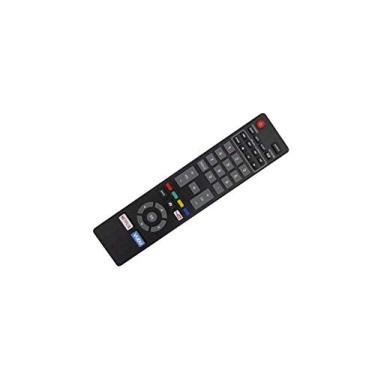 Controle remoto de substituição HCDZ para Magnavox NH418UP 32MV306X/F7 NH416UP 32MV306X 32MV306X/F7 32MV306XF7 32MV306X/F7B 32MV306XF7B 1080p Smart LED LCD HDTV TV