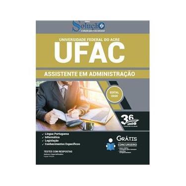 Imagem de Apostila Concurso Ufac - Assistente Em Administração - Acre