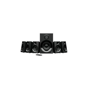 Caixa de Som Logitech Z607 5.1 Surround, Bluetooth, 160W - 980-001321