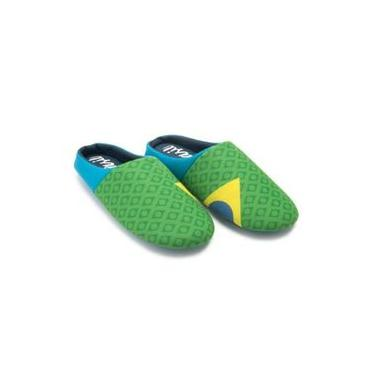 Chinelo Brasil Set With Verde 38/39 Ricsen