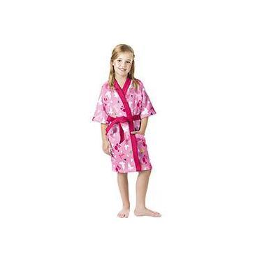 f334c72763 Roupão Infantil Felpudo P Barbie Reino do Arco-íris - Lepper