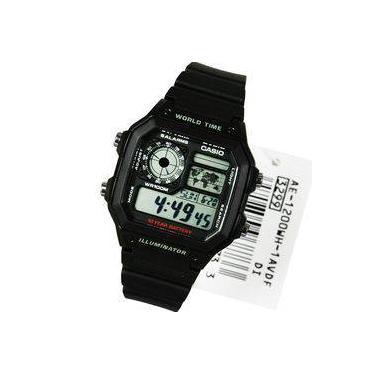 3df346bd235 Relógio Casio - Ae-1200wh-1avdf - Digital - Cronógrafo - Bateria De 10