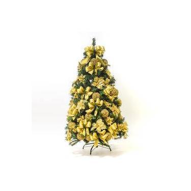 Árvore De Natal Decorada 547 Hastes 1,5m C/58 Enfeites