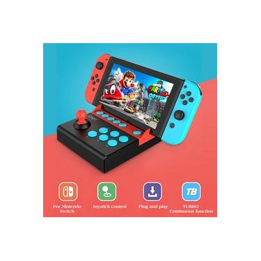 Arcade Joystick para Nintendo Switch Gladiator Game Controller Joystick com Função Turbo