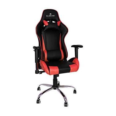 Cadeira Gamer Bluecase Titanium BCH-07RBK - Preto/Vermelho