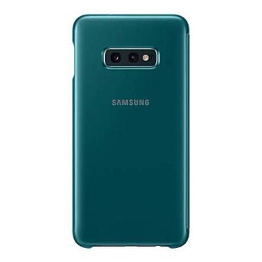 Capa Protetora Samsung Galaxy S10 Clear View Verde