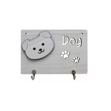 Porta Coleira Puppy Bege
