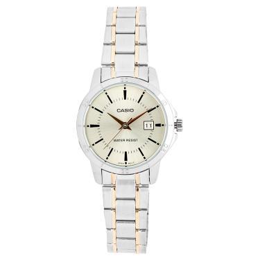 3a4e4e630fb Relógio Feminino Casio Ltp V004sg 9audf - Prata