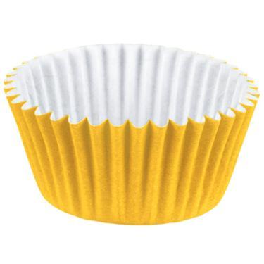 Forminha de Papel Nº4 Colors Amarela Regina 100 Unidades 1018815