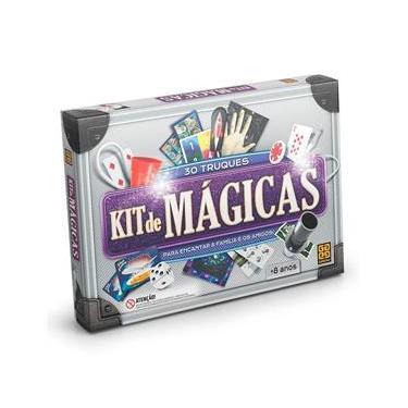 Kit de Mágicas - 30 Truques - Grow