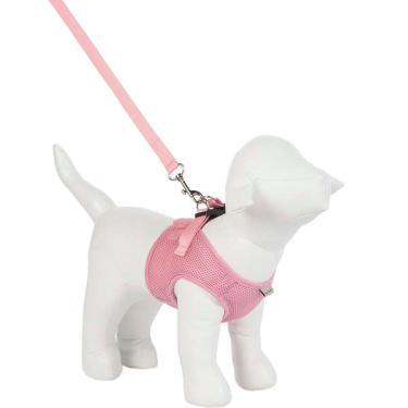 Peitoral Colete Urban Puppy Aerado Rosa - Tam. GG