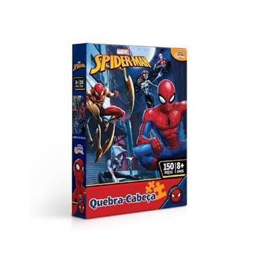 Imagem de Quebra Cabeça 150 Peças Marvel Homem Aranha 8014 - Toyster