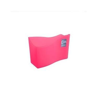 Porta Guardanapo 13,7 x 6 x 10 cm Rosa - Coza