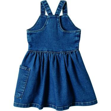 Vestido Godê Jeans Malwee Kids