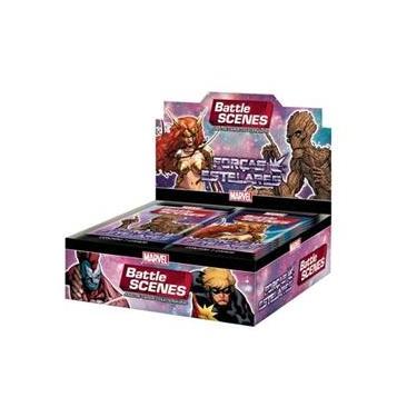 Imagem de Battle Scenes Marvel Box Forças Estelares 36 Boosters Copag