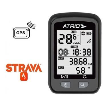 Imagem de Ciclocomputador Iron GPS Bike Atrio Resistente Prova D'água Compatível