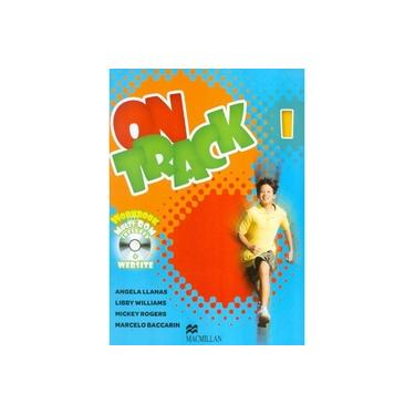 On Track 1 - Student Book - Workbook - Access Web Code - CD Multi Rom - Llanas, Angela; Llanas, Angela; Llanas, Angela - 9786685721973