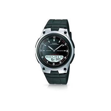 c95a102cfc8 Relógio Masculino Casio Analógico Digital Social AW-80-1AVDF