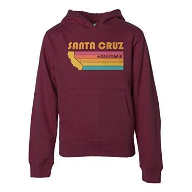 Moletom com capuz Santa Cruz para crianças, meninos e meninas, Granada, L