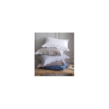 Imagem de Kit 02 Portas Travesseiro Color Art Milão Geométrico Azul Corttex