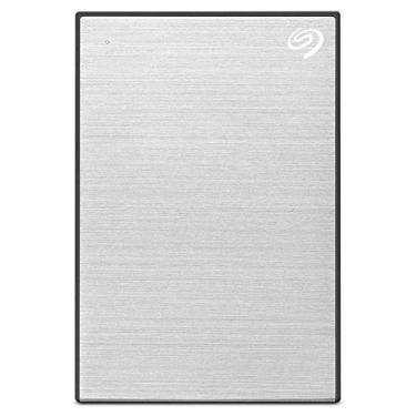 HD Externo Portátil 4TB Seagate Plus Slim - USB 3.0 - Prata - STHP4000401