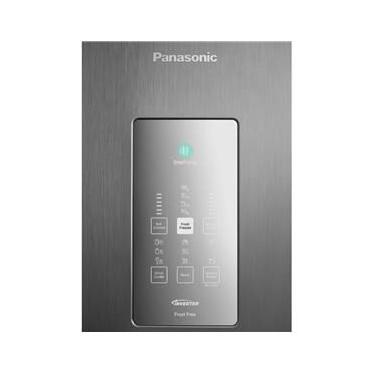 Imagem de Refrigerador Panasonic BB71 Inverter Bottom Freezer 480L 2 Portas Aço Escovado Frost Free 220V NR-BB71PVFXB