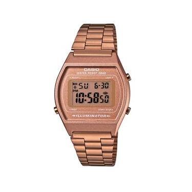 94004e20084 Relógio Feminino Digital Casio B640WC5ADF - Rose
