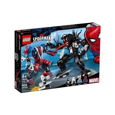 LEGO Super Heroes - Marvel - Spider - Man - Robô Aranha vs Venom - 76115
