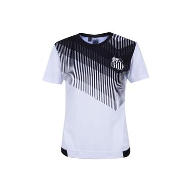 Camiseta do Santos Contact - Feminina