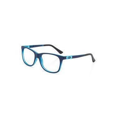 77350e55dc368 Armação Oculos Grau Infantil Mormaii Flip Nxt M6061k8250 Azul Escuro