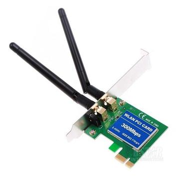 Placa Pci Express Wireless 300Mbps Low Profile