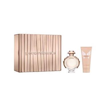 Imagem de Kit Perfume Paco Rabanne Olympea Feminino Eau de Parfum 80 Ml + Hidratante Corporal 100 Ml