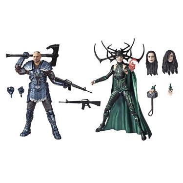 Bonecos Legends Series Marvel 80 Anos - Skurge / Marvel's Hela - Thor Ragnarok