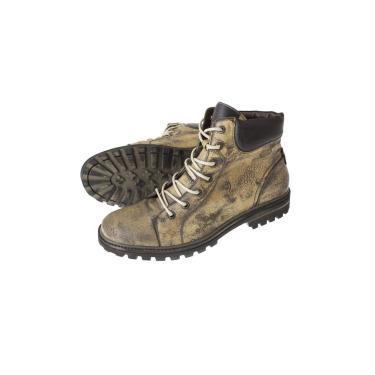 Bota Sandalo Andes Cano Alto Mostarda  masculino