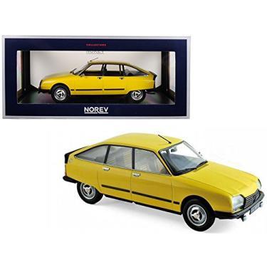 Imagem de 1979 Citroen GS X3 Mimosa Yellow 1/18 Diecast Model Car by Norev