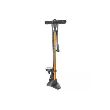 Bomba De Pé Encher Pneu Bike Bicicleta Giyo Gf5725 Dourada