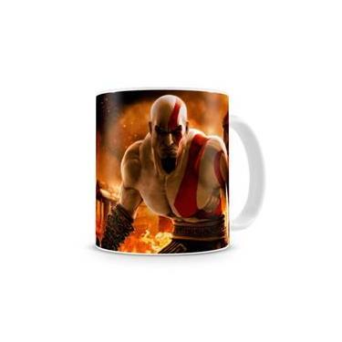Caneca God of War Kratos I