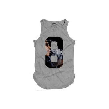 Camiseta Masculina Regata Longline Khalifa 8