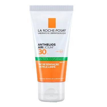 Protetor Solar La Roche-Posay Anthelios Airlicium FPS 30 Facial Antioleosidade com 50g 50g