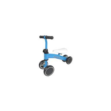 Imagem de Bicicleta sem pedal de equilíbrio, pedaleira, infantil, brinquedo, presente para crianças de 2 a 6 anos de idade. azul